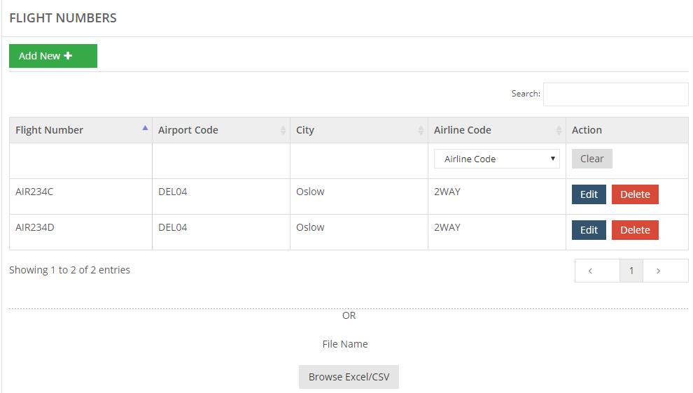 See All Flight Numbers – 2way FAQ